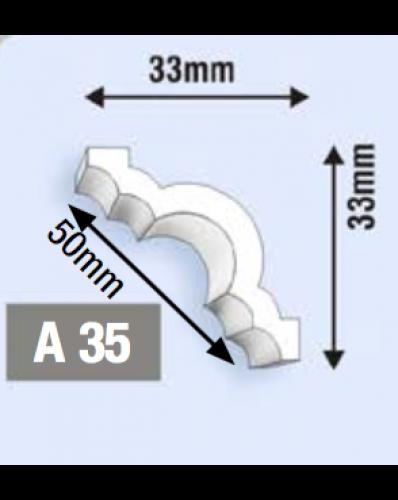Roda Teto / Roda Meio A35 Multiuso